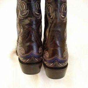 Ariat Style NO 10012802 Shoes - Arait Catalina Square Toe Cowboy boots 7.5B
